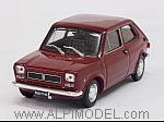 Fiat 127 1a Serie 2 porte 1972 (Rosso Etna) by BRUMM