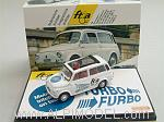 Autobianchi Giardiniera 1972 'Turbo Furbo' Limited Edition FTIA Switzerland 2010 .(White) by BRUMM