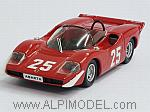 Abarth 2000 #25 Nurburgring 1969 Hezemans by BEST MODEL