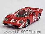 Abarth 2000S #92 Winner Campionato Europeo Montagna 1969 Arturo Merzario by BEST MODEL