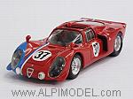 Alfa Romeo 33.2  #37 Test Le Mans 1968 Gosselin - Trosch by BEST MODEL