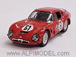 Alfa Romeo TZ2 #61 Sebring 1966 T.Zeccoli by BEST MODEL