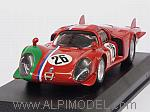 Alfa Romeo 33.2 LM #26 1000Km Monza 1968 Gosselin - Trosch by BEST MODEL