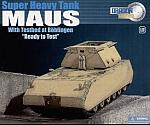 Super Heavy Tank Maus eith Testbed at Boblingen - Ready To Test by DRAGON ARMOR.