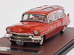 Cadillac Broadmoore Skyview Wagon 1956 (Red) by GLM MODELS