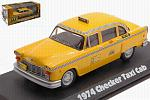 Checker Taxi Sunshine Cab Company #804 1978-83 TV Series 'Taxi' by GREENLIGHT