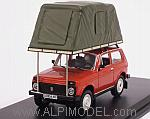 Lada Niva 1981 with tent on roof (Red) by IST MODELS