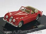 Jaguar XK140 Convertible 1956 (Red) by IXO MODELS
