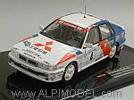 Mitsubishi Galant #4 Winner Sweden 1991 Eriksson - Parmander by IXO MODELS