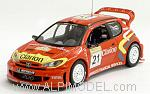 Peugeot 206 WRC #21 Rally Turkey 2003 Panizzi - Panizzi by IXO MODELS