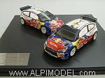 Citroen C4 WRC Champion Team Set - Rally Catalunya 2009 Loeb - Sordo (2 cars) by IXO MODELS