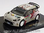 Citroen DS3 WRC #7 Rally Sweden 2012 Attiyah - Bernacchini by IXO MODELS