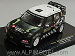 Mini John Cooper Works #12 Rally Sweden Araujo - Rramalho by IXO MODELS