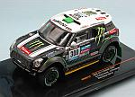 MINI ALL 4 Racing #N300 2nd Rally Dakar 2014 Peterhansel - Cottret by IXO MODELS