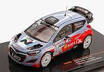 Hyundai J20 #1 Winner Rally D'Antibes 2014 Bouffier - Panseri by IXO MODELS