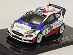 Ford Fiesta RS WRC #17 Rally Monte Carlo 2016 Bouffier - Bellotto by IXO MODELS