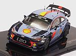 Hyundai i20 Coupe WRC Rally RACC Catalunya 2017 (includes decals options for #4 and #5) by IXO MODELS