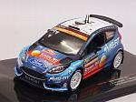 Ford Fiesta R5 WRC #21 Rally Monte Carlo 2019 Greensmith - Edmonson by IXO MODELS