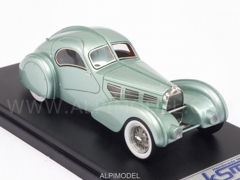 Bugatti Type 57S Competition Coupe Aerolithe 1935 (Metallic Light Blue) by LSM