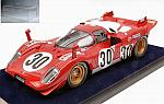 Ferrari 512S #30 24h Daytona 1970 Manfredini - Moretti (with display case) by LOOKSMART