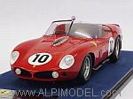 Ferrari TR61 #10 Winner Le Mans 1961 Gendebien - Hill (with display case/con vetrina) by LOOKSMART