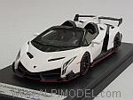 Lamborghini VENENO ROADSTER 2014 (Monocerus White) by LOOKSMART
