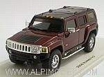 Hummer H3 2006 (Sonoma Red Metallic) by Spark-Minimax by LUXURY