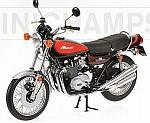 Kawasaki Z2 750 RS Super 4 1973  (Brown-Orange) by MINICHAMPS