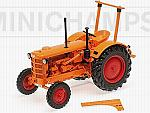 Hanomag R28 Farm Tractor 1953 Orange by MINICHAMPS
