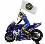 Yamaha YZR-M1 MotoGP Catalunyia 2018 Valentino Rossi by MINICHAMPS