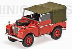 Land Rover 1948 (Red) by MINICHAMPS