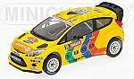 Ford Fiesta RS WRC Stobart Rally GB 2011 by MINICHAMPS