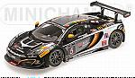 McLaren 12C GT3 Boutsen Ginion Racing 24h Spa 2013  Dermont - Vervisch - Wauters by MINICHAMPS
