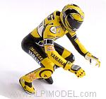 Valentino Rossi figure Riding MotoGP Laguna Seca 2005 by MINICHAMPS
