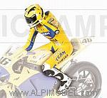 Valentino Rossi riding figure  MotoGP 2006 by MINICHAMPS