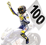 Valentino Rossi figurine 100 GP Wins GP Assen World Champion  MotoGP 2009 by MINICHAMPS