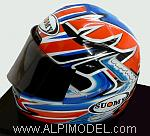 Helmet Troy Bayliss World Champion - Ducati (scale 1/2 - 14cm ) by MINICHAMPS