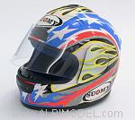 Helmet Suomy Ben Bostrom 2001 (scale 1/2 - 14cm ) by MINICHAMPS
