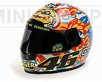 Helmet AGV GP Mugello 2001 World Champion Valentino Rossi (1/2 scale - 13cm) by MINICHAMPS