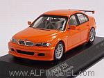 BMW 320i Racing (E46/4) Street Version 2005 (Orange) by MINICHAMPS