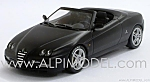 Alfa Romeo Spider (Matt Black) by MINICHAMPS