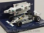 Williams FW07 Ford British GP 1980 Desiree Wilson by MINICHAMPS