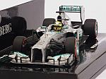 Mercedes AMG W04 #9 GP USA 2013 Nico Rosberg by MINICHAMPS