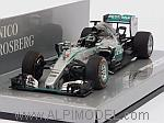 Mercedes W06 AMG Hybrid GP Japan 2015 Nico Rosberg by MINICHAMPS
