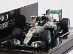 Mercedes AMG W07 Hybrid Demonstration Run Singdelfingen World Champion 2016 Nico Rosberg by MINICHAMPS