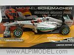 Mercedes F1 Showcar 2012 Michael Schumacher Special Edition GP Germany by MINICHAMPS