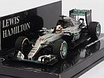 Mercedes W07 AMG Hybrid #44 GP China 2016 Lewis Hamilton (HQ resin) by MINICHAMPS