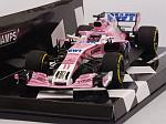 Force India VJM11 Mercedes #11 GP China 2018 Sergio Perez (HQ Resin) by MINICHAMPS