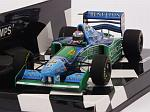 Benetton B194 Ford #6 British GP 1994 Jos Verstappen  (HQ resin) by MINICHAMPS