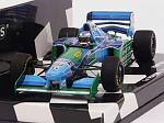 Benetton B194 Ford #6 GP Hungary 1994 Jos Verstappen 1st F1 Podium  (HQ Resin) by MINICHAMPS